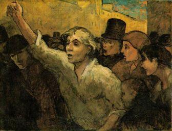 El Levantamiento, Honoré Daumier